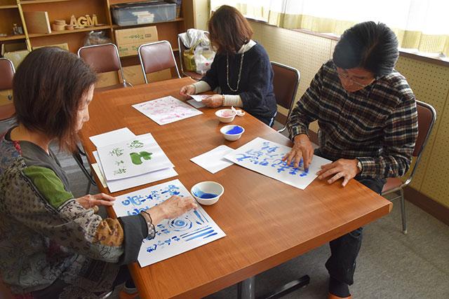 ゆび書き文字教室-2