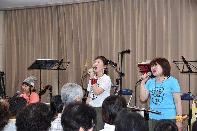 山の小さな音楽会